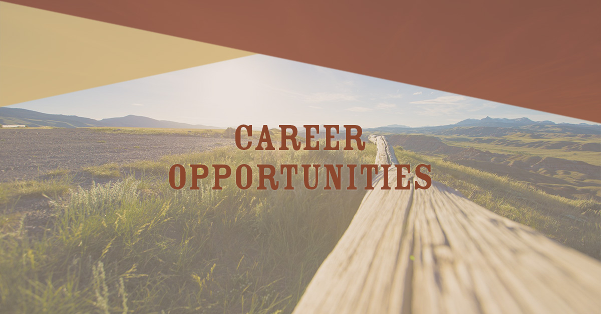 Career Opportunities Wyoming Office Of Tourism