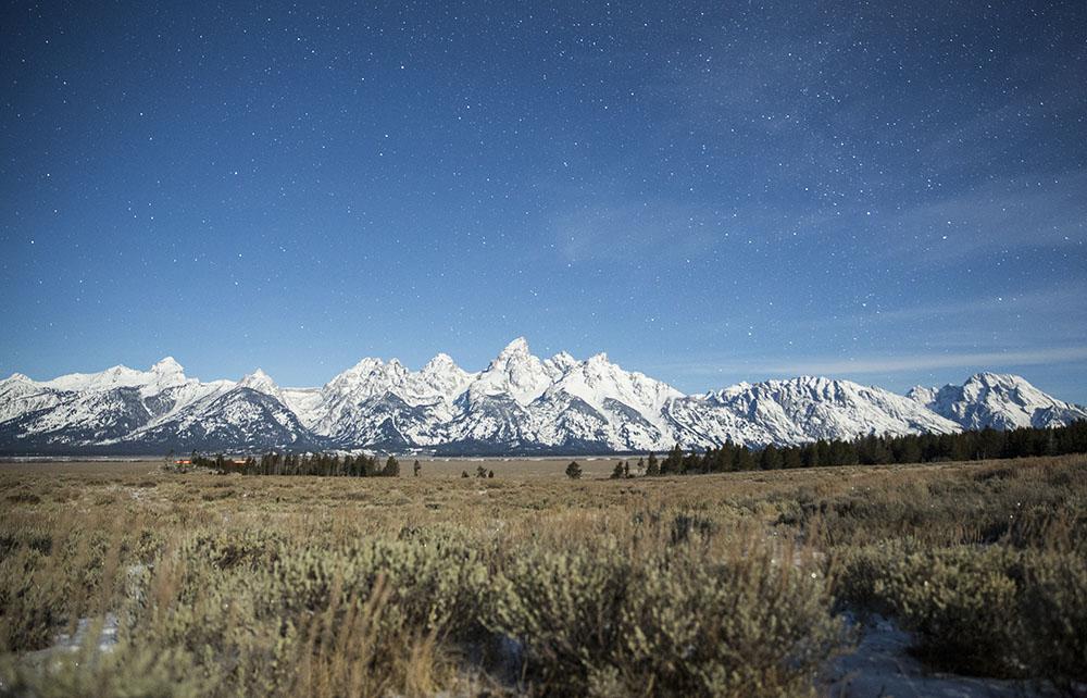 Antelope Flats near Grand Teton National Park