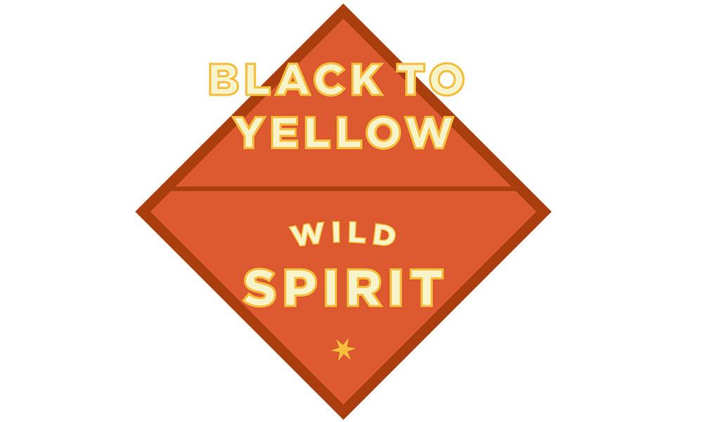 Black To Yellow Route Wyoming