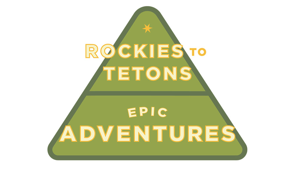 Rockies To Tetons Route Wyoming