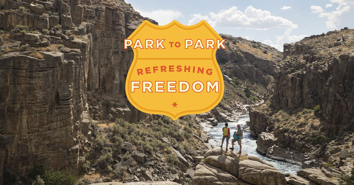 Park to Park Route, Refreshing Freedom