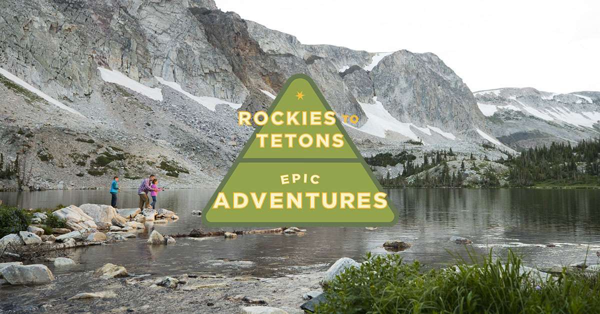 Rockies to Tetons Route, Epic Adventures