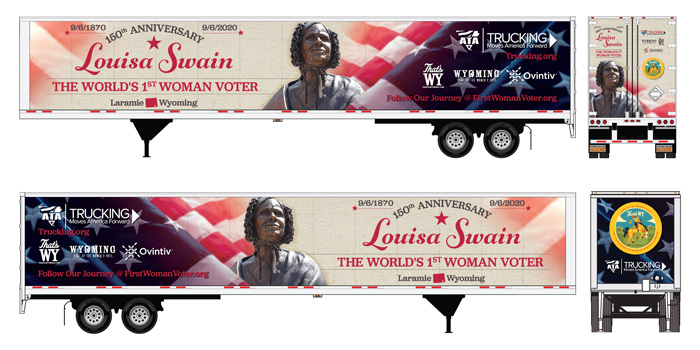 Women's Suffrage Truck