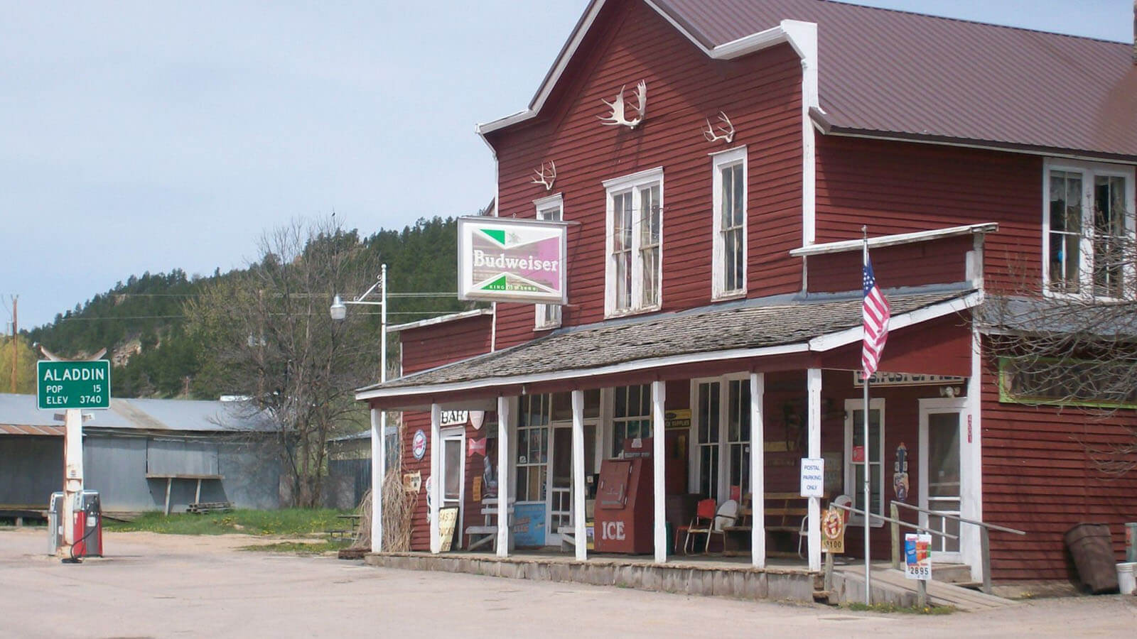 Aladdin Wyoming Post Office