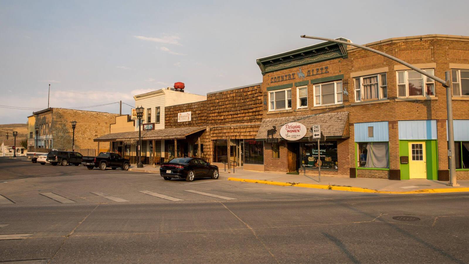 downtown Kemmerer street