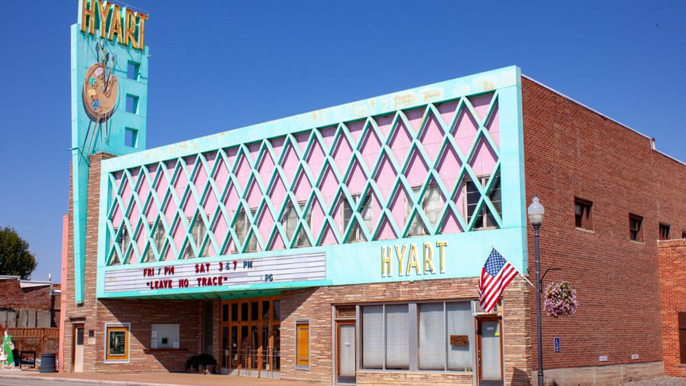 Hyart Theater building