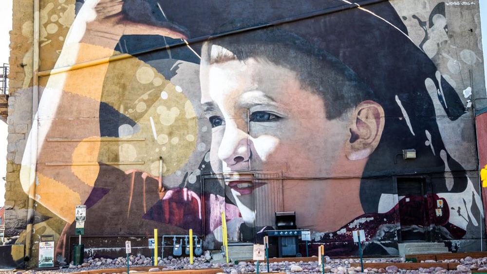 downtown Mural in Rock Springs