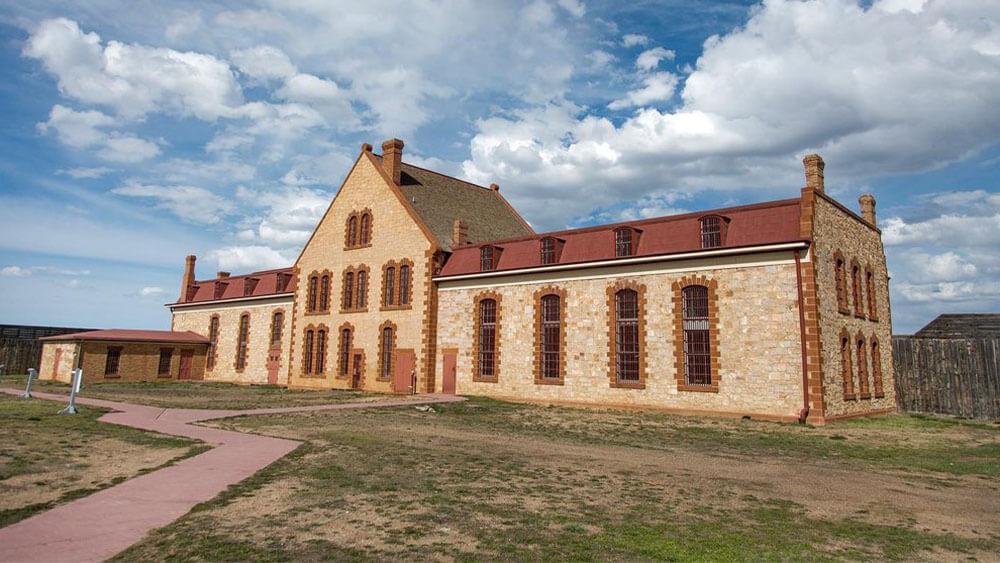 Wyoming Territorial Prison building
