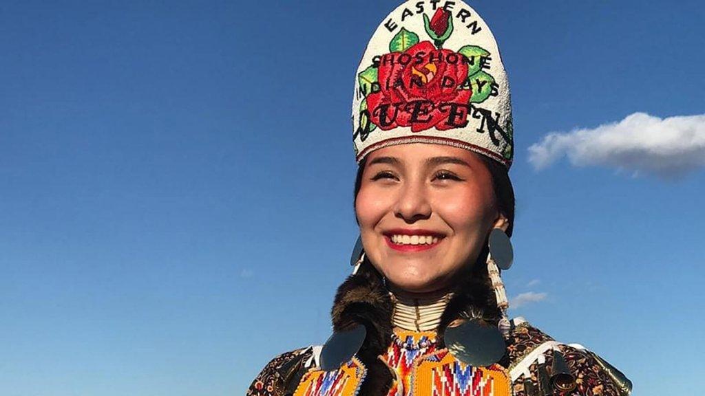 Eastern Shoshone queen