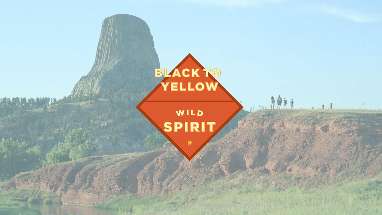 Black to Yellow Region Wild Spirit