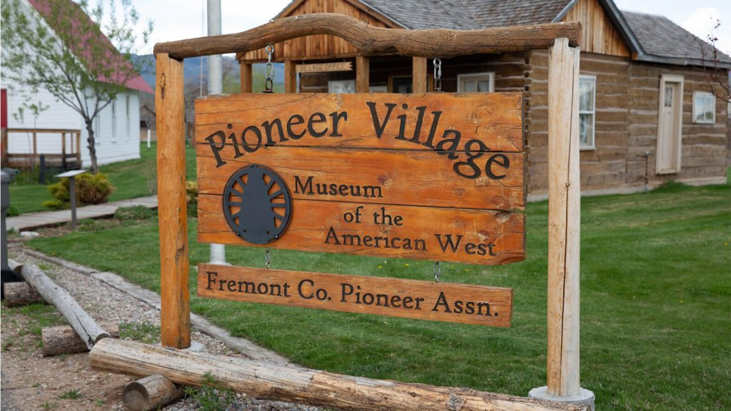 Museum of the American West in Lander sign