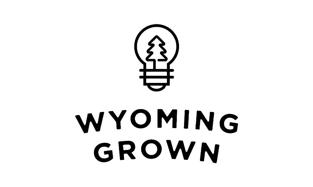 Wyoming Grown logo