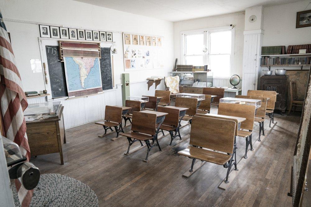 Classroom in Fort Laramie