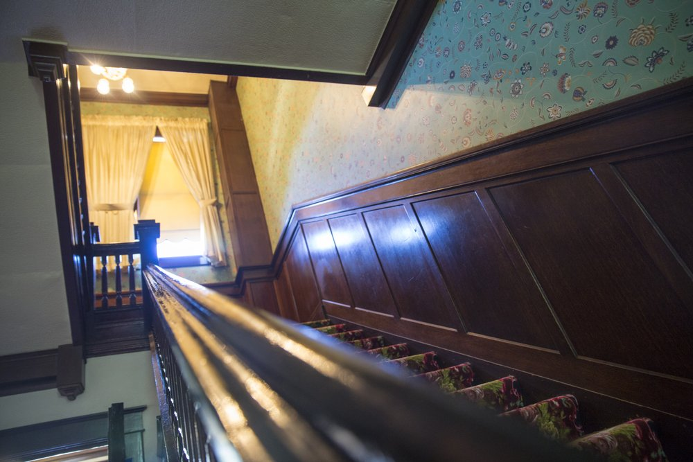Irma Hotel staircase