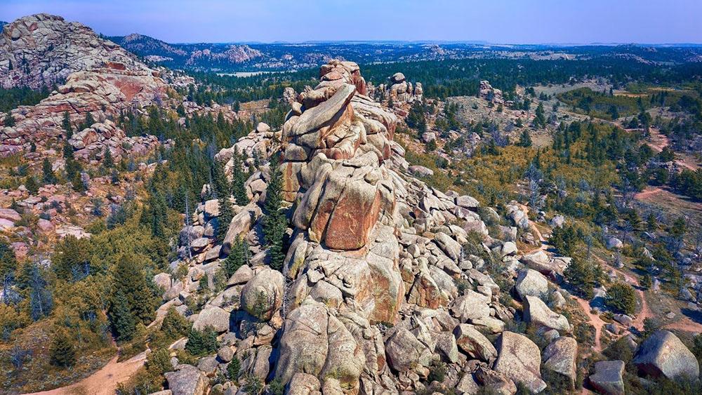 Vedauwoo rock formations.